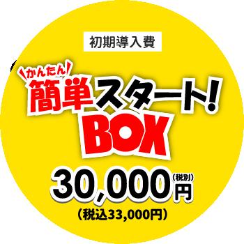 初期導入費30,000円(税別)